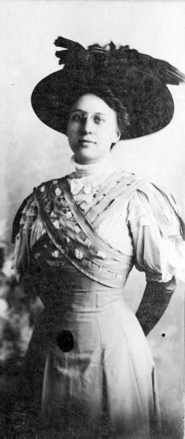 Portrait of Helen Wallace