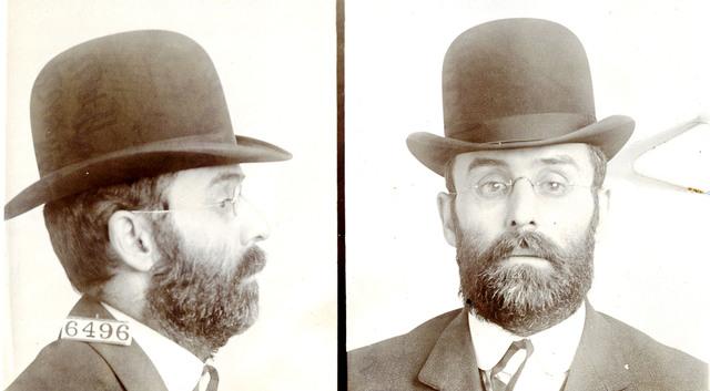 Albert F. Rineholt, Inmate Number 6496, at Leavenworth Federal Penitentiary
