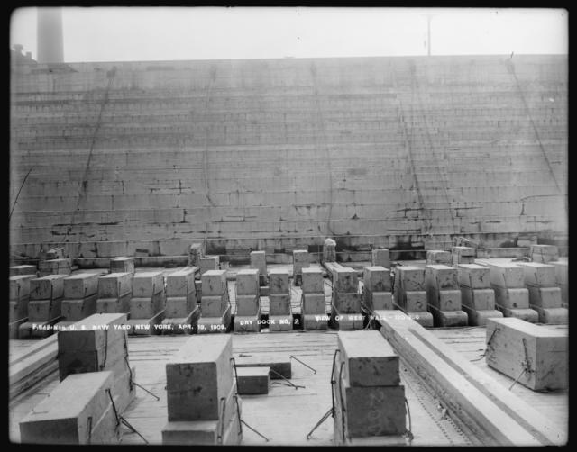 Dry Dock Number 2, View of West Wall, 120-200