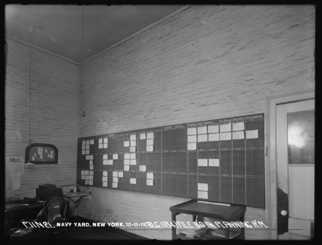 File Board in the Planning Room of Building 11 (34)