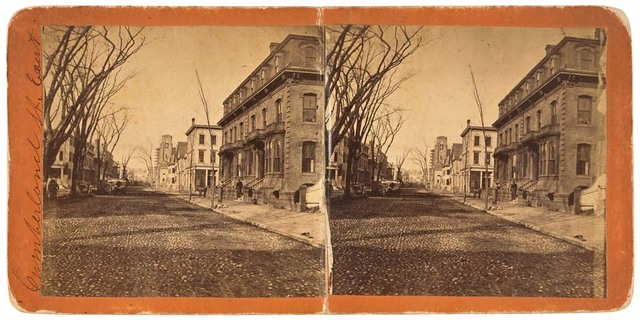 Photograph of Cumberland Street East in Maine