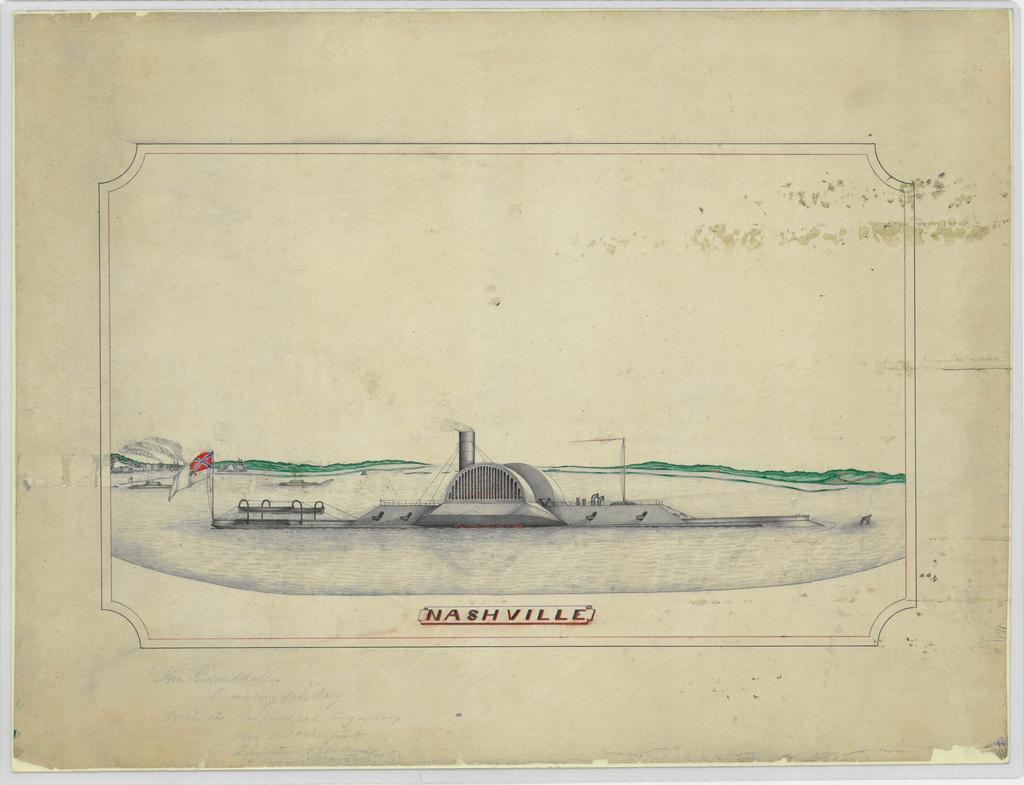 Sketch of the CSS Nashville