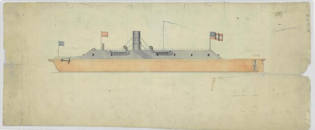 Sketch of the CSS Virginia