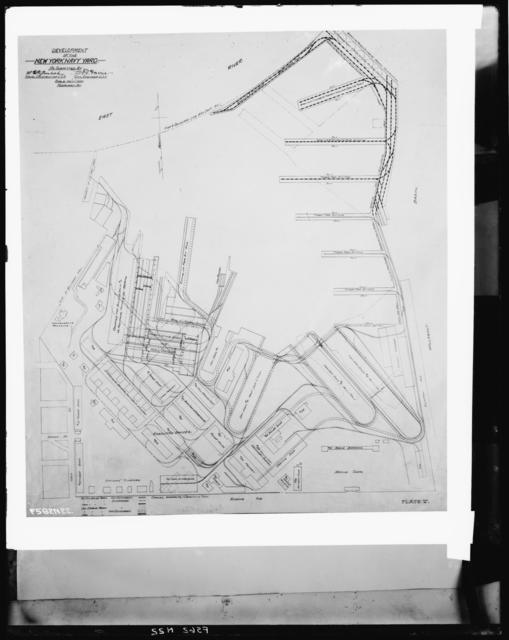 Development Drawing, Plate V - Site Plan