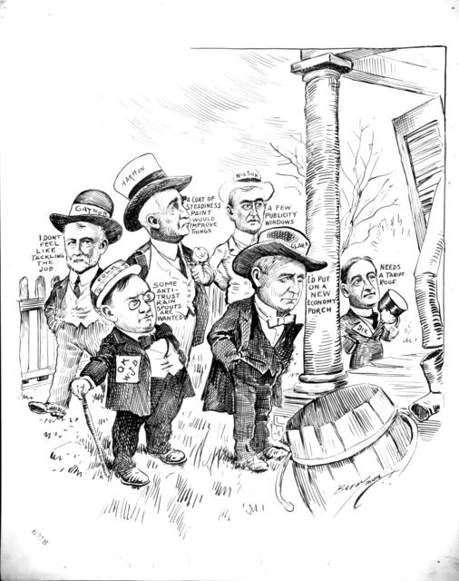 Willing Workers in Miss Democracy's Front Yard