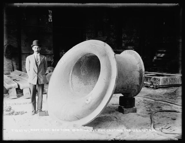 Hawse Pipe Casting for U.S.S. Utah