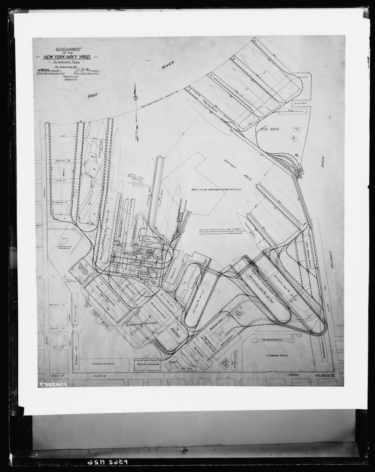 Development of the New York Naval Yard