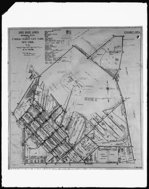 Survey - Base Line Layout, 6-1-1912