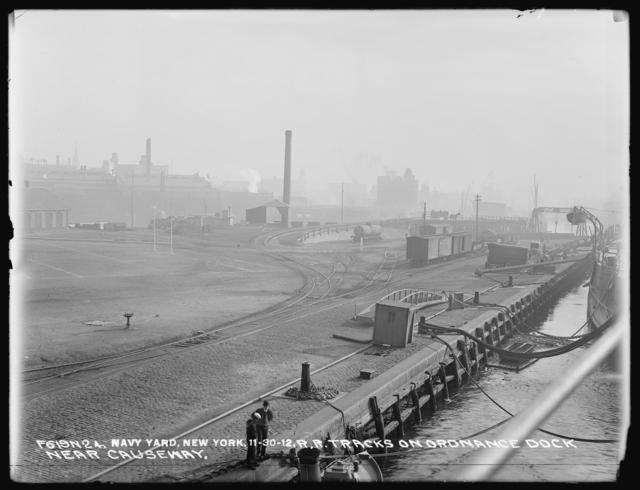 Railroad Tracks on Ordnance Dock, Near Causeway