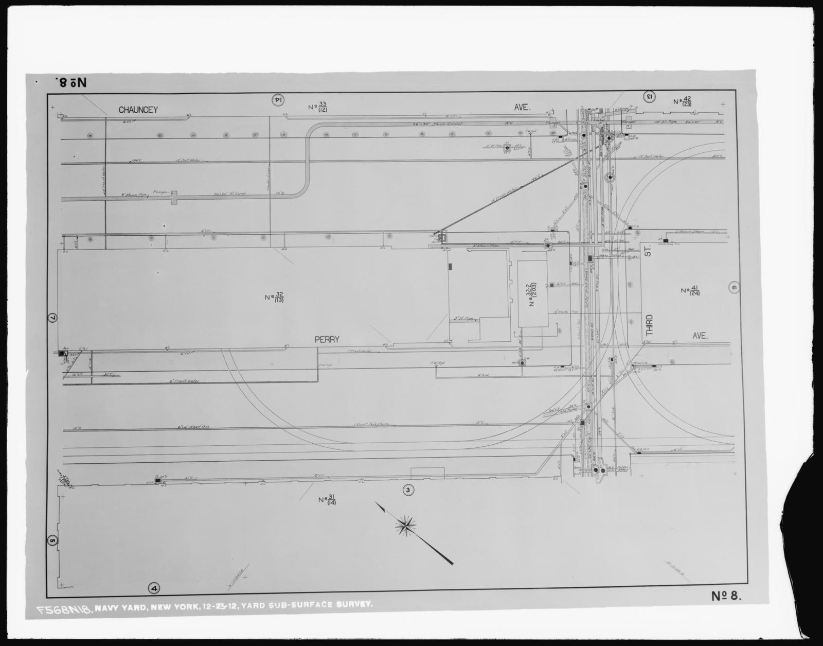 Yard Sub-Surface Survey, Number 8