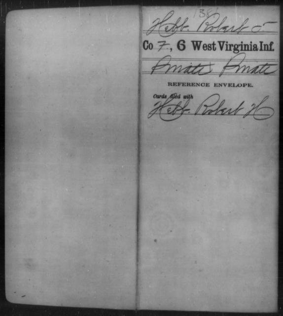 Hebb, Robert T - Age [Blank], Year: [Blank] - Sixth Infantry - West Virginia