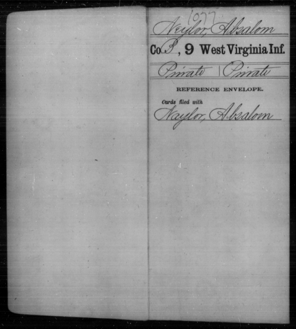 Neylor, Absalom - Age [Blank], Year: [Blank] - Ninth Infantry - West Virginia