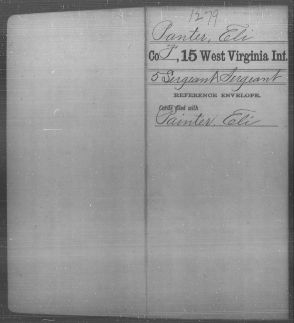 Panter, Eli - Age [Blank], Year: [Blank] - Fifteenth Infantry - West Virginia