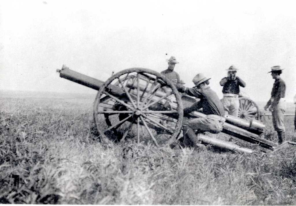 Field Test of Large Recoil Carriage