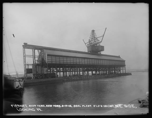 Coal Plant, Building 129 (80), Shore End, Northeast Side, Looking West