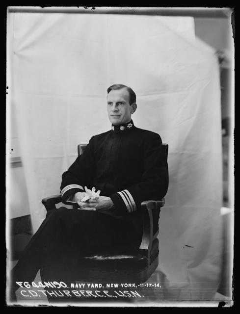 Commander Thurber, C. E., U.S. Navy