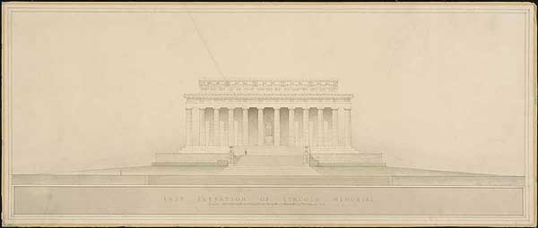 East Elevation of Lincoln Memorial