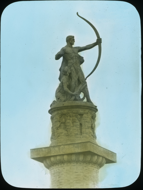 Photograph of Adventurous Bowman by Art Smith at the Panama-Pacific International Exposition