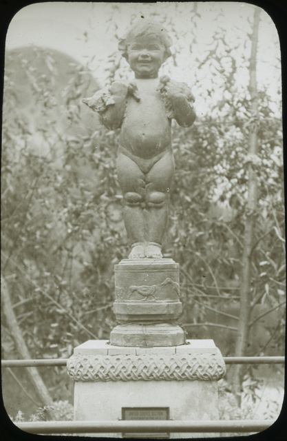 Photograph of Fountain Duck Baby by Edith Barrets Parsons at the Panama-Pacific International Exposition