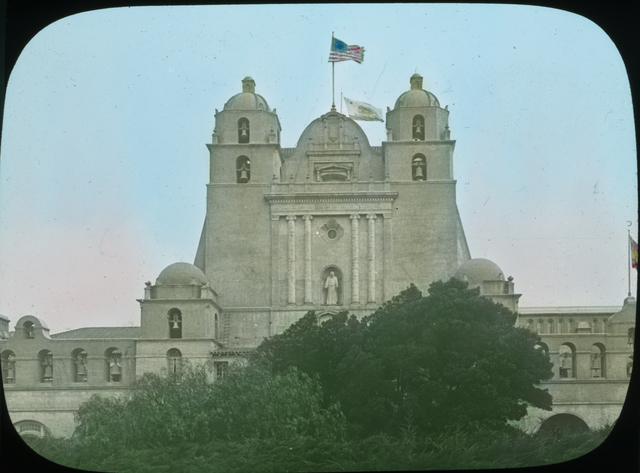 Photograph of the California State Building at the Panama-Pacific International Exposition