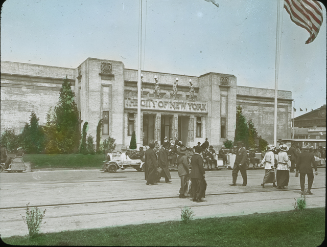 Photograph of the City of New York Building at the Panama-Pacific International Exposition