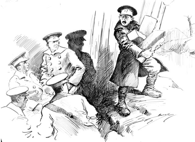 """""""The Sergeant Turned Around and in a Choking Voice said : 'Boys, Smith's Gone West'"""""""