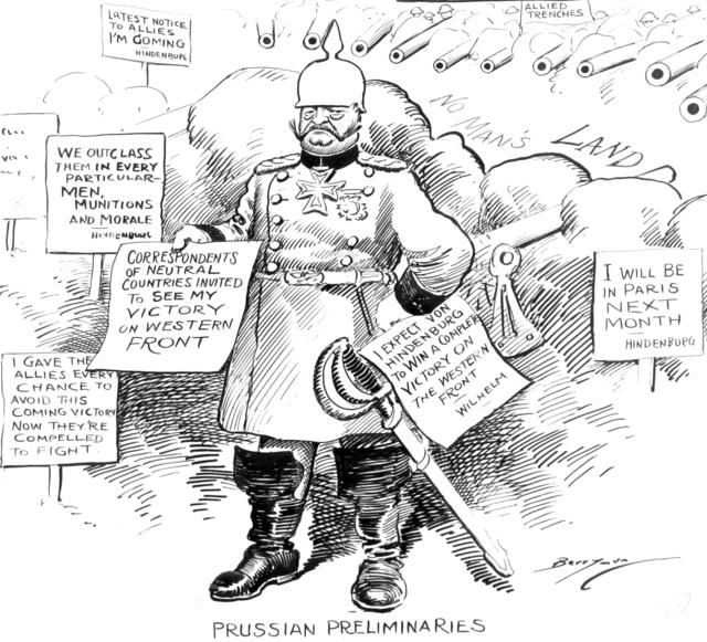 Prussian Preliminaries