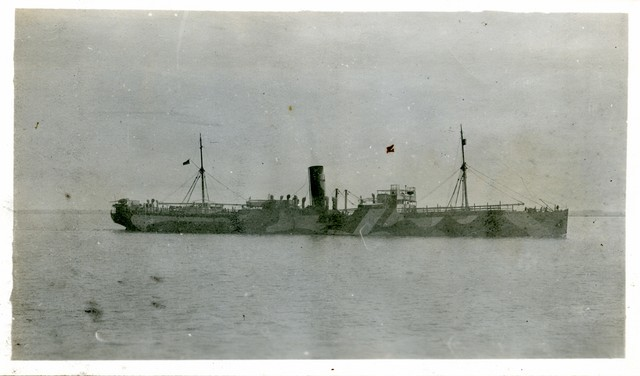 Photograph of the Starboard View of the SS Nortonian