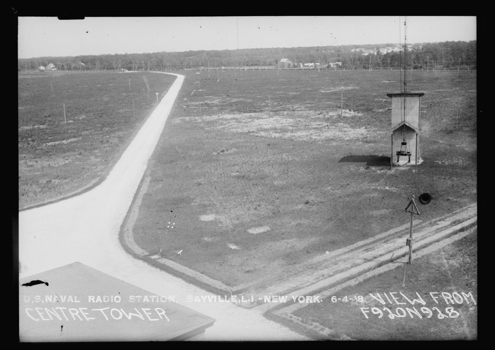 U S  Naval Radio Station, Sayville, Long Island, New York