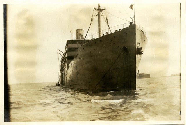 Photograph of the SS Parisima