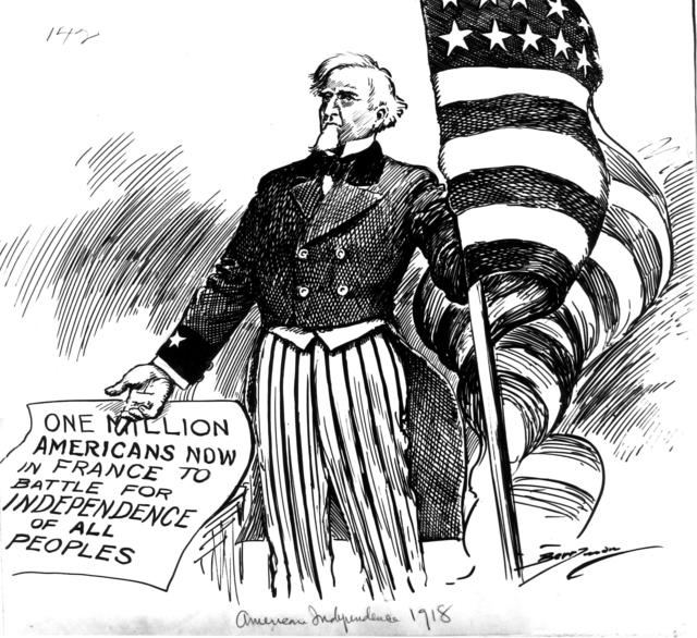 American Independence, 1918