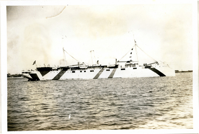 Photograph of the SS Advance