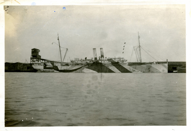 Photograph of the SS Colon