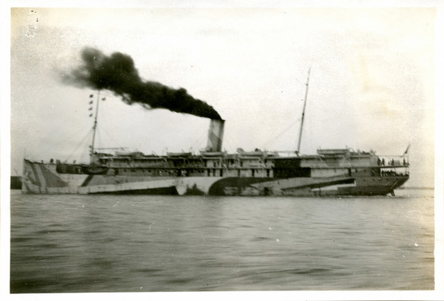Photograph of the SS Apache