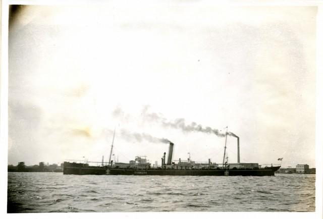 Photograph of the SS Dalagoa