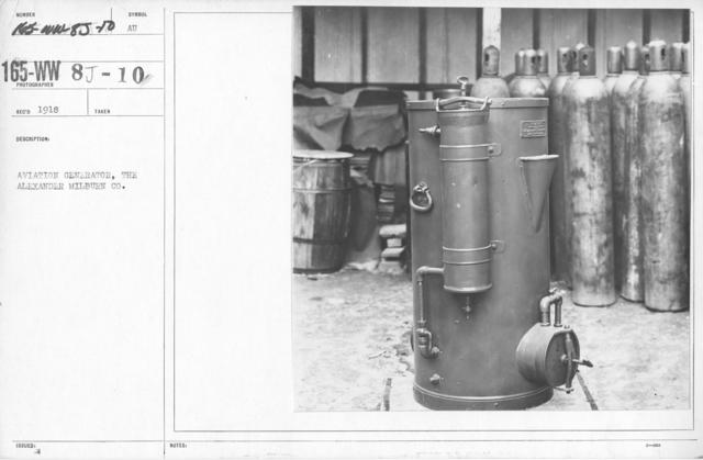 Airplanes - Instruments - Aviation Generator, the Alexander Milburn Co