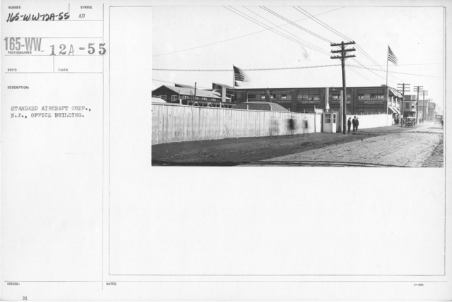 Airplanes - Manufacturing Plants - Standard Aircraft Corp., N.J., Office Building