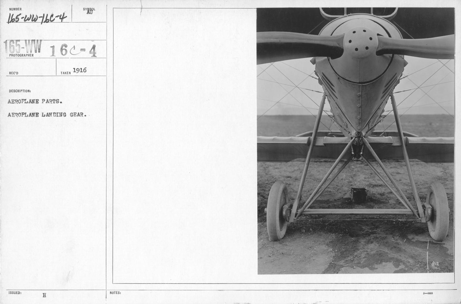 Airplanes - Parts - Aeroplane parts  Aeroplane landing gear