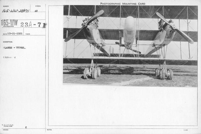 Airplanes - Types - Planes - Types. Caproni 4