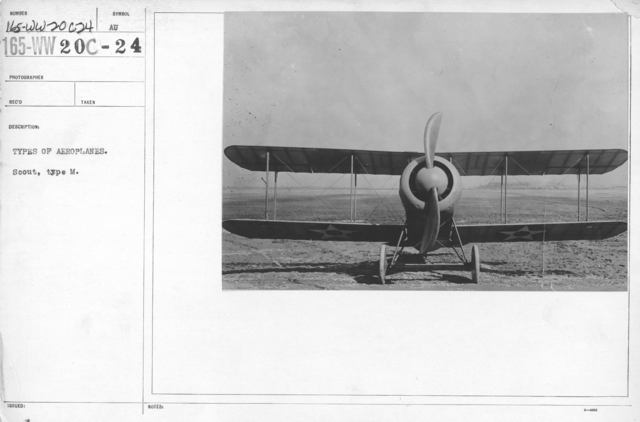 Airplanes - Types - Types of aeroplanes. Scout, type M