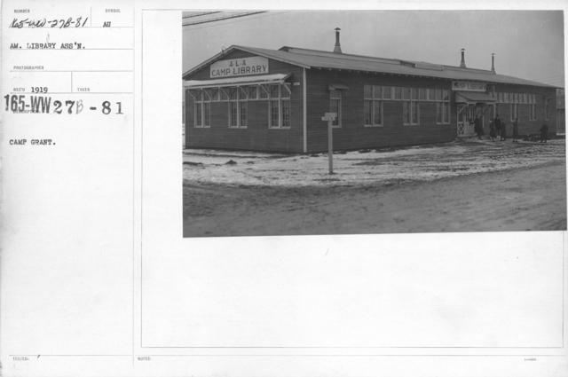 American Library Association - Libraries - Alabama through Iowa - Camp Grant