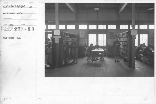 American Library Association - Libraries - Alabama through Iowa - Camp Grant, Ill