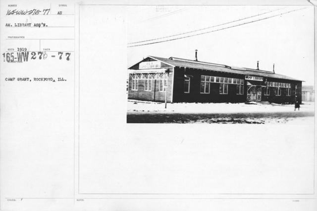 American Library Association - Libraries - Alabama through Iowa - Camp Grant, Rockford, Ill