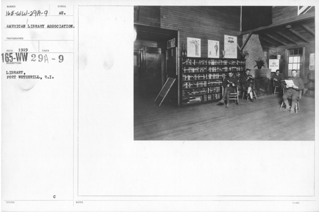 American Library Association - O through R - Library, Fort Wetherill, R.I