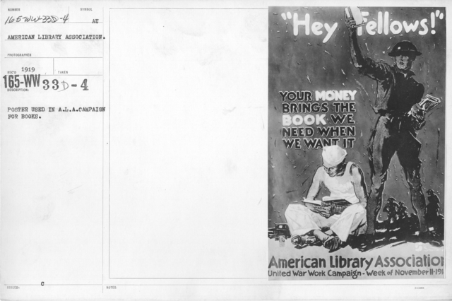 American Library Association - Posters - Poster used in A.L.A. Campaign for books