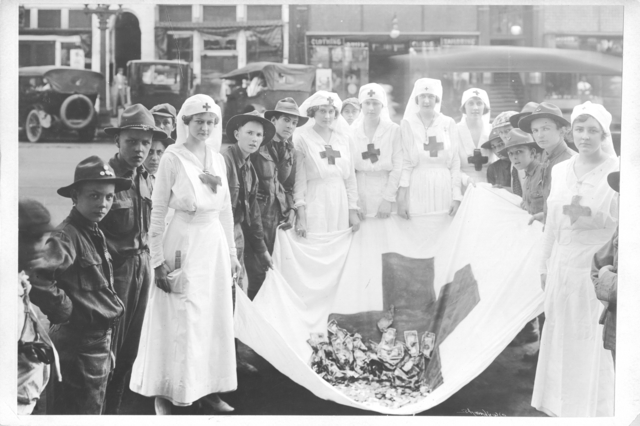 American Red Cross - Soliciting Funds - Miscellaneous - American Red Cross Parade, Birmingham, Alabama, May 21, 1918