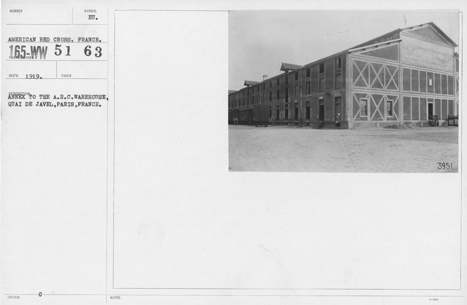 American Red Cross - Warehouses - Annex to the A R C