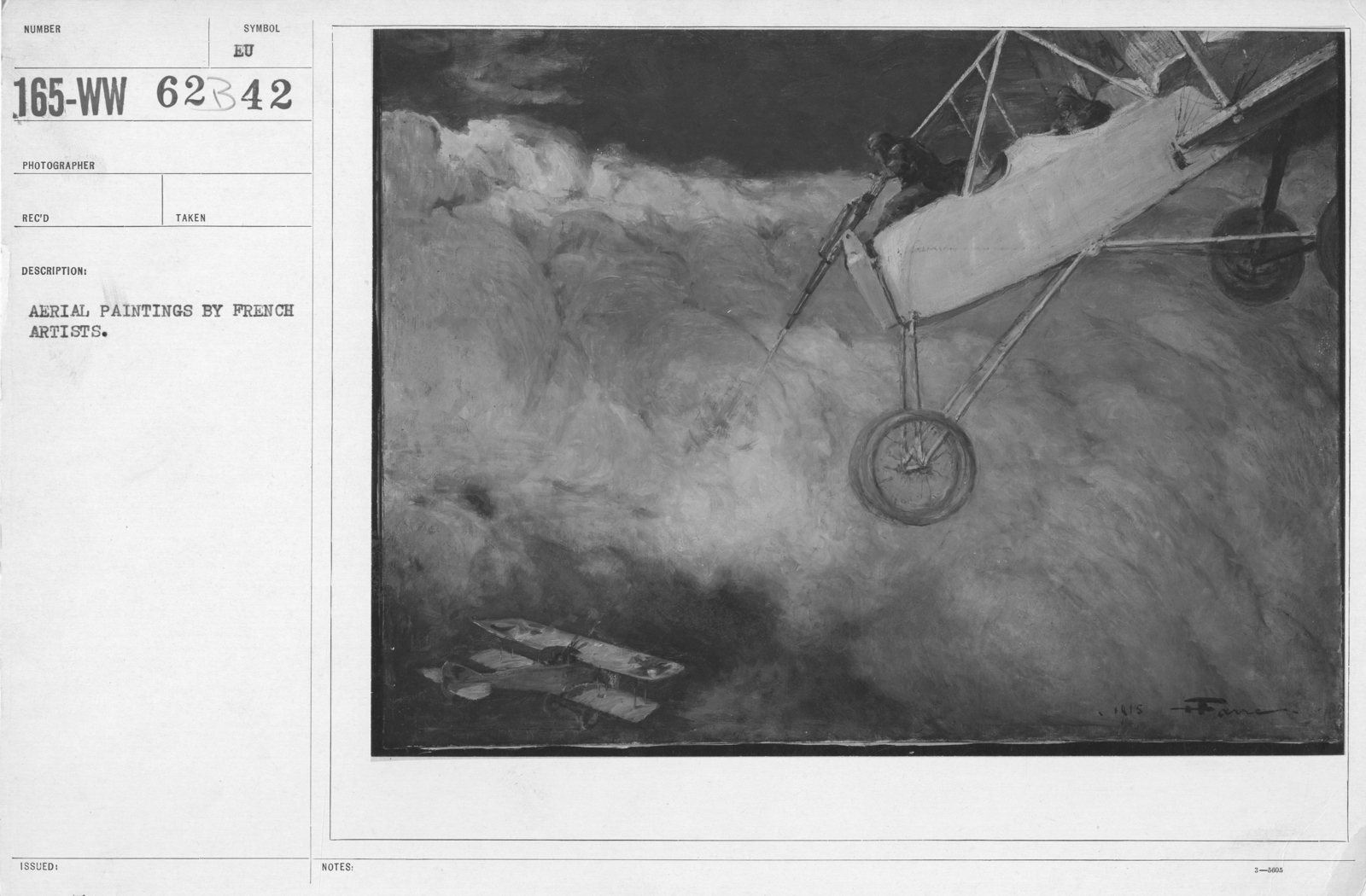 Artists - French Artworks - Aerial paintings by French artists