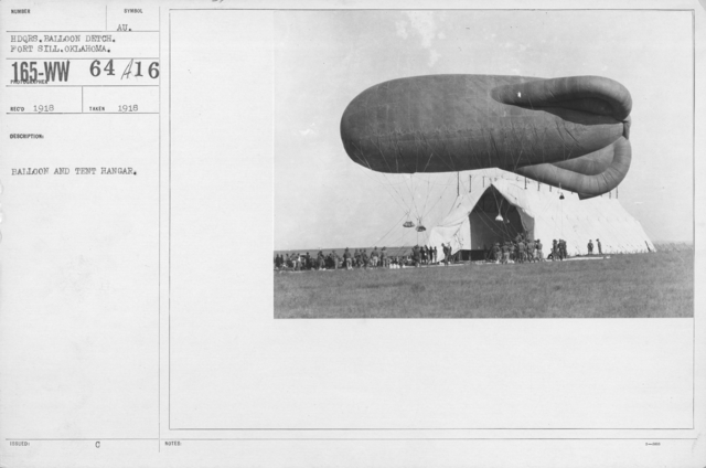Balloons - Hangars and Beds - Balloon and tent hangar