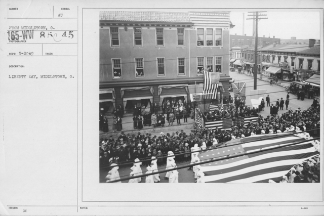 Ceremonies and Parades - Liberty Day, Middletown, Ohio